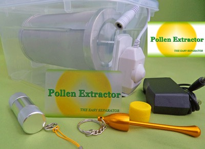 Dry sifting machine Pollen Extractor